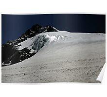 Glacier Ice - Cho La Pass, Nepal Poster