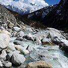 Water & Mountains - Nepal by Derek McMorrine