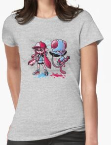 Inkling Trainer // Collaboration with Drew Wise Womens Fitted T-Shirt