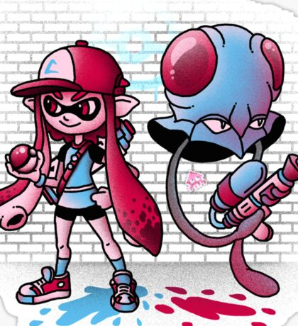 Inkling Trainer // Collaboration with Drew Wise Sticker