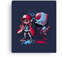 Inkling Trainer // Collaboration with Drew Wise Canvas Print