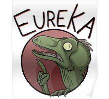 Eureka Raptor - Dinosaur T-Shirt Poster