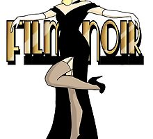 Film Noir Pinup by CatAstrophe