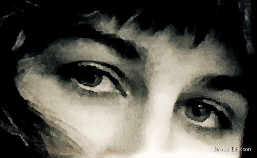 the gaze by Bruce  Dickson
