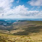 Brecon Beacons Panorama by etunar