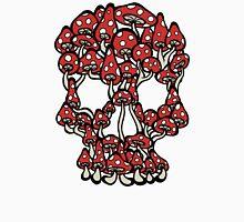 Skull made of Mushrooms Unisex T-Shirt