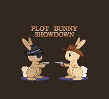 Plot Bunny Showdown Unisex T-Shirt