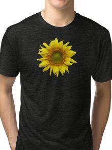 Sunny Sunflower Tri-blend T-Shirt