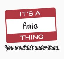 Its a Arie thing you wouldnt understand! by masongabriel