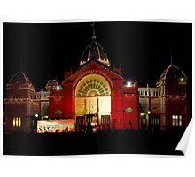 Royal Exhibition Building, Carlton Gardens-Melbourne Poster