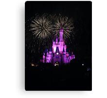 Walt Disney World. Canvas Print