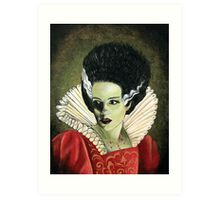 Renaissance Bride of Frankenstein Art Print
