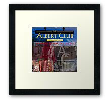 ALBERT MASHUP #2 Framed Print