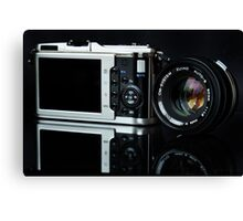 It's A New World - Zuiko 50mm f1.8 Canvas Print