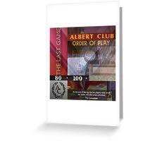 ALBERT MASHUP #3 Greeting Card