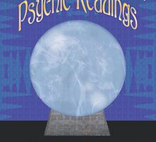 Psychic Readings Poster by Mystikka