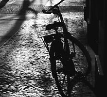 Bike in the first warm sun of the year by Tanja Katharina Klesse