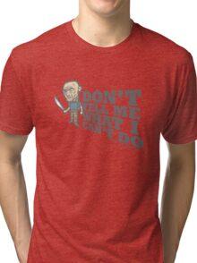 lost - john locke Tri-blend T-Shirt