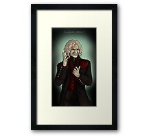 Are You Familiar With Forever? Framed Print