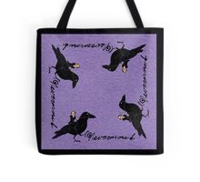 Poe and Raven Tote Bag