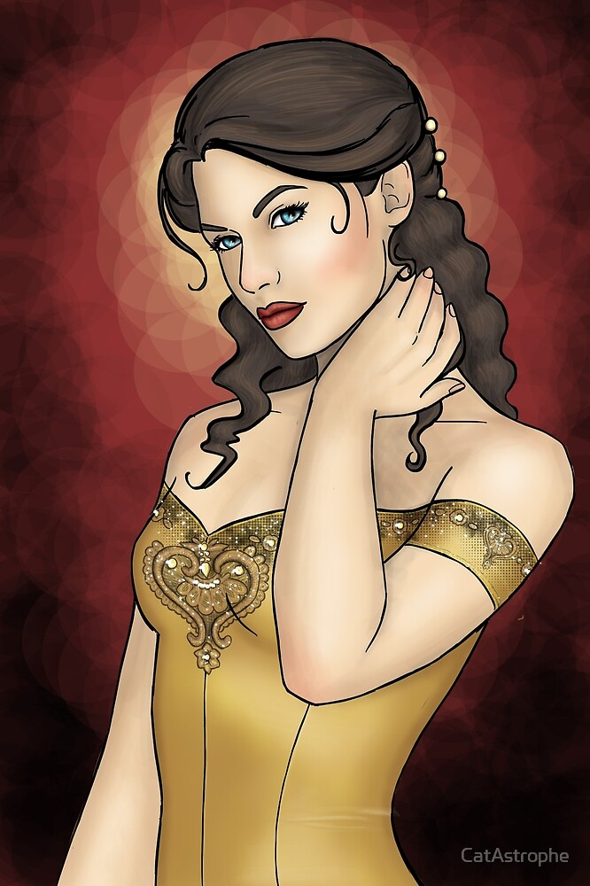 Portrait of a Perfect Noblewoman by CatAstrophe