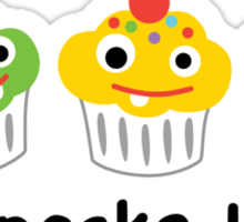 Cupcake Love II Sticker