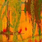 orange with mossy trees by CTDesigns