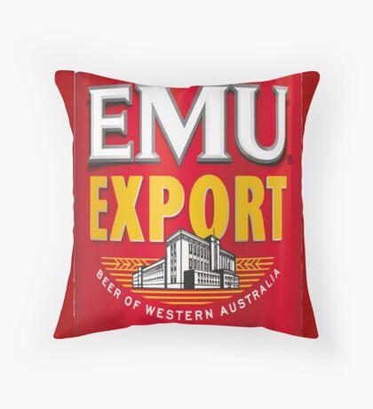 EMoo Export Throw Pillow