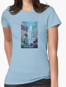Queen Mary Falls  Womens Fitted T-Shirt