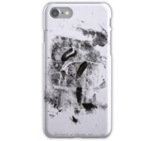 Contraintes et Abandon #4 - Monotype on Wenzhou Paper + pieces of paper sewn iPhone Case/Skin