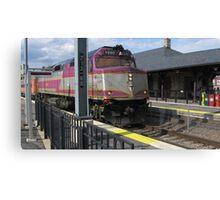 1050 MBTA Commuter Rail Canvas Print