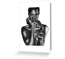 Ajuma - The Beauty Collection Greeting Card