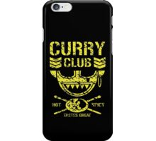 The Curry Club iPhone Case/Skin