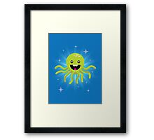 Happy Octopus Framed Print