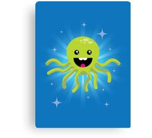 Happy Octopus Canvas Print