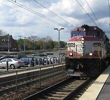1134 MBTA Commuter Line by Eric Sanford