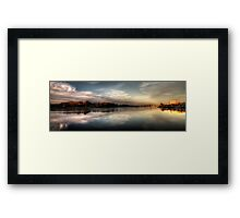 The Lakes Framed Print