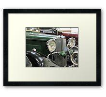 Green Sunbeam Car Framed Print