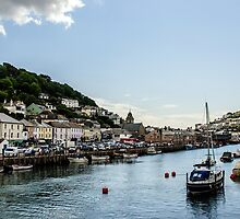 Looe Harbour 2 by Lissywitch