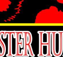 Jurassic Hunter Sticker