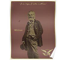 Whitman Poster