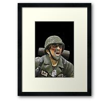 """NO MORE WAR!!"" Framed Print"