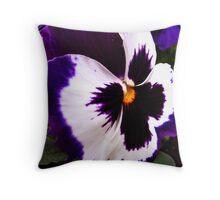 Purple Royal Throw Pillow