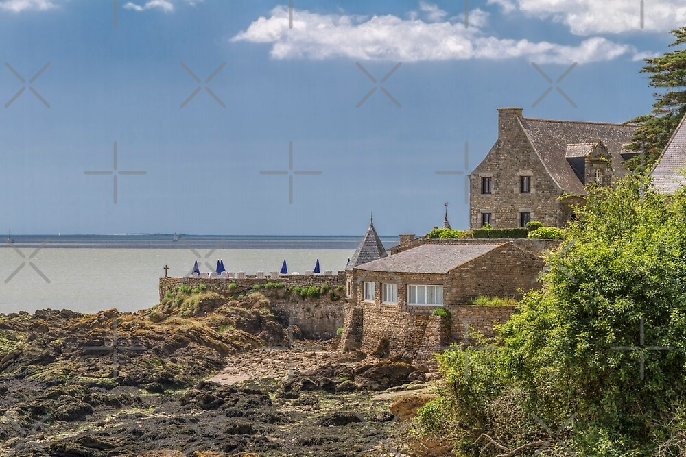 Billiers, Brittany, France by Elaine Teague