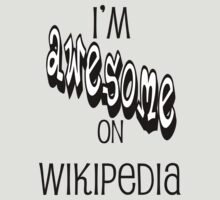 I'm AWESOME on Wikipedia by vmcampos