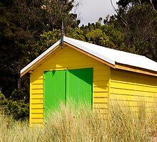 Boat House,Rosebud West,Victoria,Australia by Rosina  Lamberti