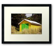 Boat House,Rosebud West,Victoria,Australia Framed Print