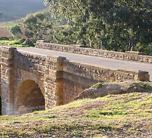 Djerriwarrh Sandstone Bridge at Anthony's Cutting by DianneLac