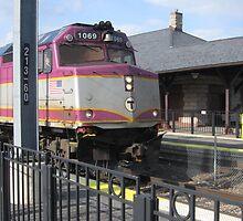 1069 MBTA Commuter rail by Eric Sanford
