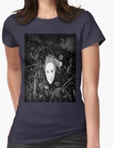 Cut off Barbie Head Tee Womens Fitted T-Shirt